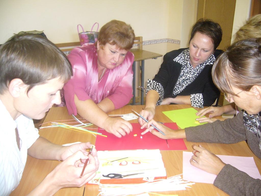 Открытое занятие мастер класс с педагогами